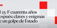 Juan Francisco Fuentes imparte el curso El 23-F cuarenta años después: Claves y enigmas de un golpe de Estado